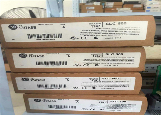New Sealed Allen Bradley 1747-ASB Series A SLC 500 Universal Remote I/O Adapter